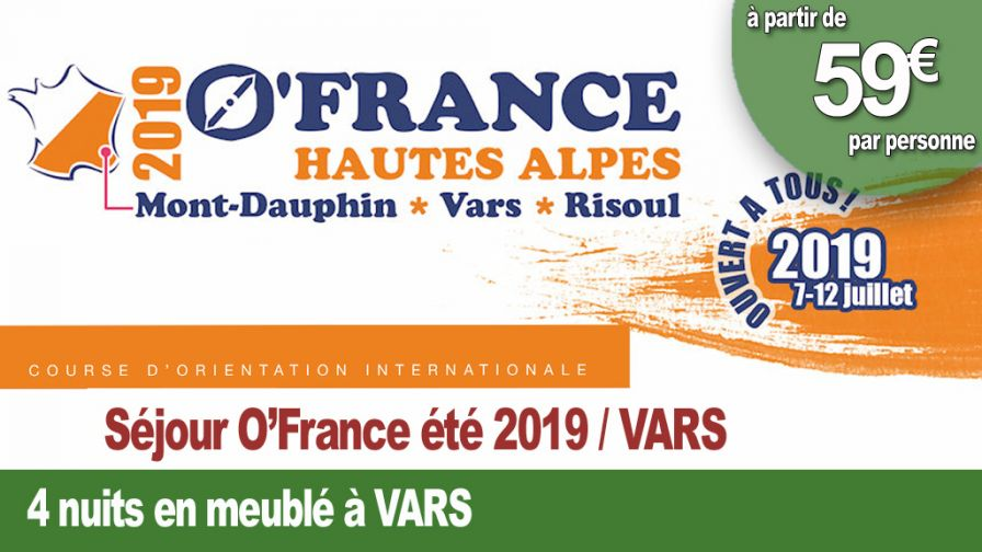 Course o france 4 nuits vars