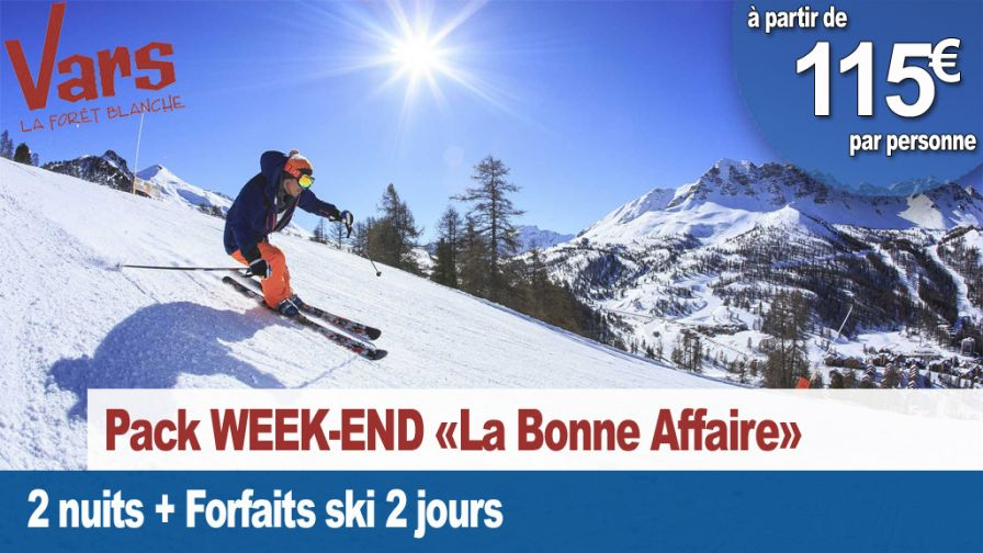 Week-end la Bonne Affaire Vars 2020
