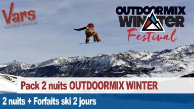 OUTDOOR MIX Winter Festival : séjour week-end